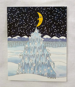 Ice Tree card